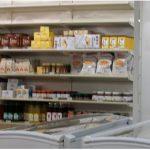 De l'épicerie, biscuits, produits frais