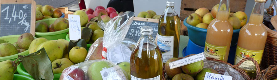 Des produits locaux