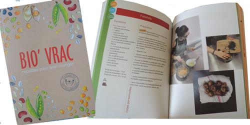 Un livre de conseils et de recettes pour bien manger