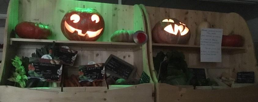 L'épicerie fête Halloween!